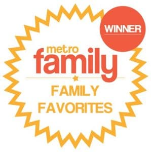 Metro Family Award Badge Winner