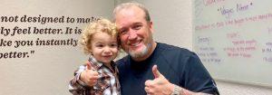 Chiropractic Edmond OK Vernon Millspaugh With Child